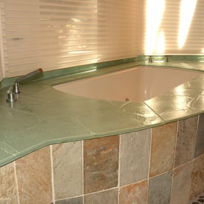 Slate Tub Deck