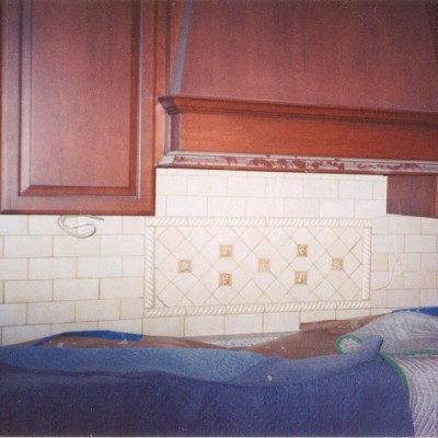 Subway with insert backsplash