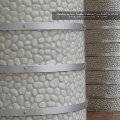 Pebble columns