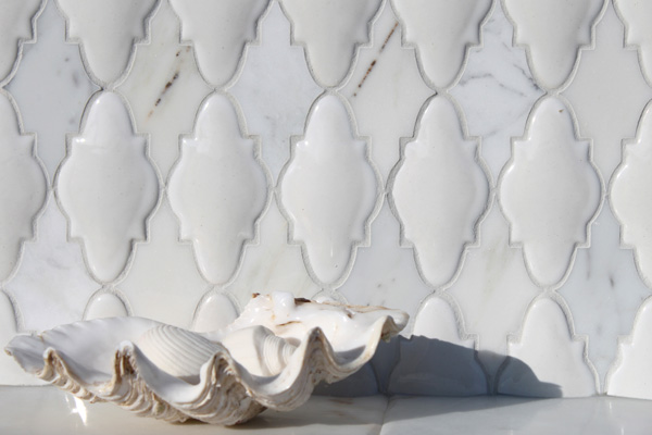 Arabesque Tile Kitchen Backsplash Westside Tile And Stone