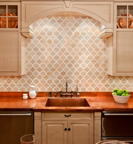Arabesque Tile for Backsplash and Tile Flooring