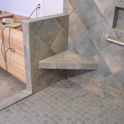 Better Bench in ADA Shower