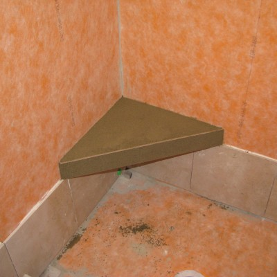 Better Bench Installed in Schluter Shower