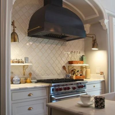 Beveled Arabesque by indigo & ochre design