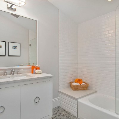 Beveled Tile Subway Tile Shower