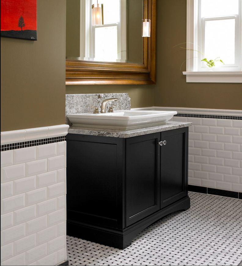 bathroom subway tile designs - 792×868
