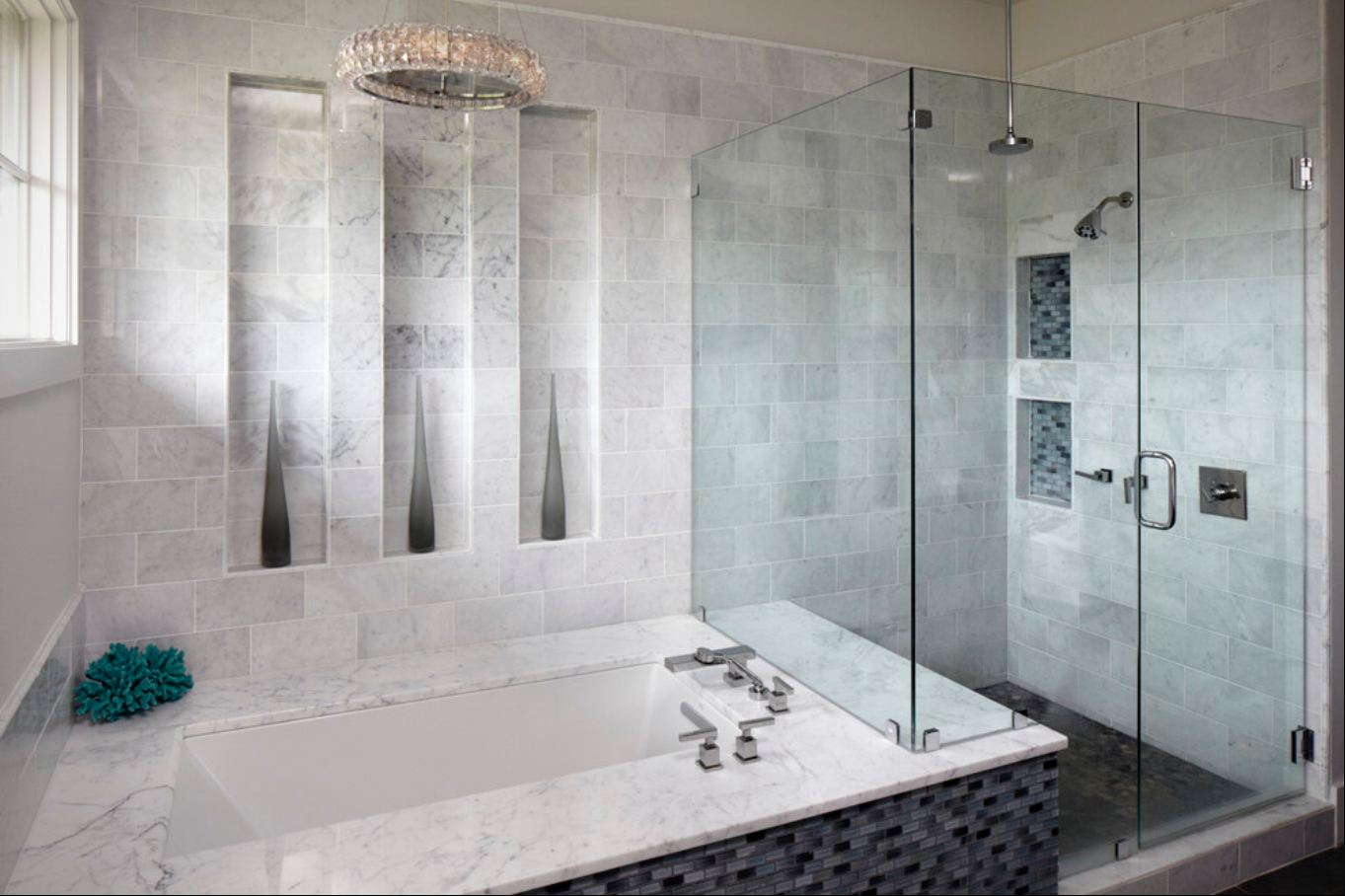 Bathroom tile bathroom designs westside tile and stone for Bathroom design 12 x 8