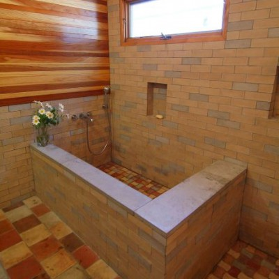 Concrete Tile Install 1