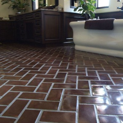 Concrete Tile Install 8