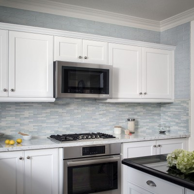 Dove Vibrato Kitchen Backsplash