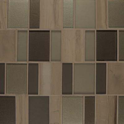 Flat Iron Brick Mosaic