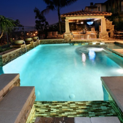 Glass Tile Pool Oceansideglass