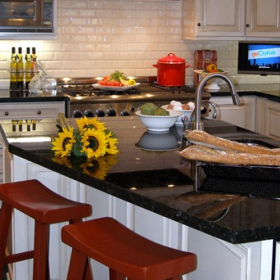 Granite Counter Adex Backsplash