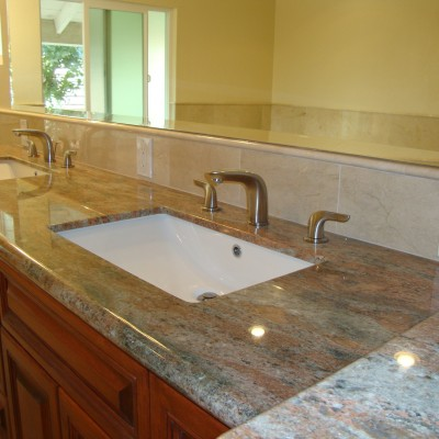 Granite Counters Crema Marfil Splash