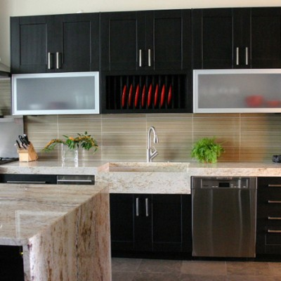 Granite Counters Porcelanosa Backsplash