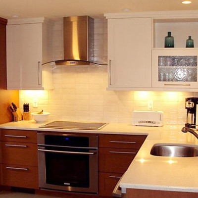 Granite Counters White Subway Backsplash