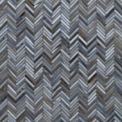 Artistic Tile Hip Herringbone Detroit Blue
