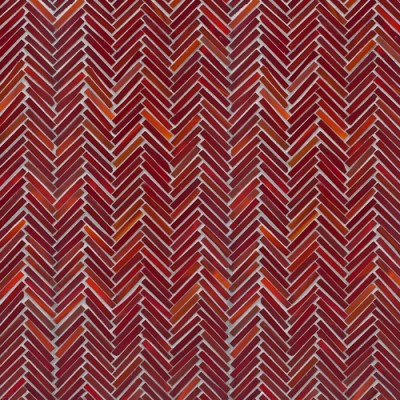 Artistic Tile Hip Herringbone Red Hot Mama Blend