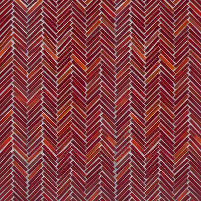 Artistic Tile Hip Herringbone Red Hot Mama Blend