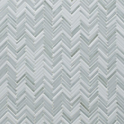 Hip Herringbone Be Bop White