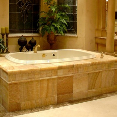 Honey Onyx Bathtub