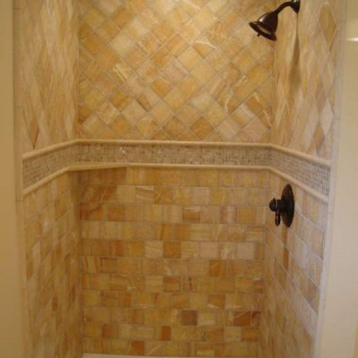 Honey onyx shower