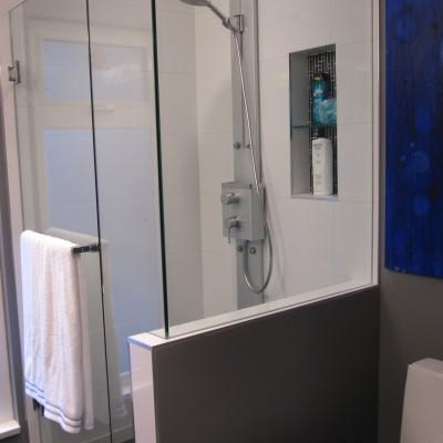 Schluter Shower Final Installation