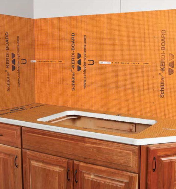 Schluter Kerdi Board Westside Tile And Stone