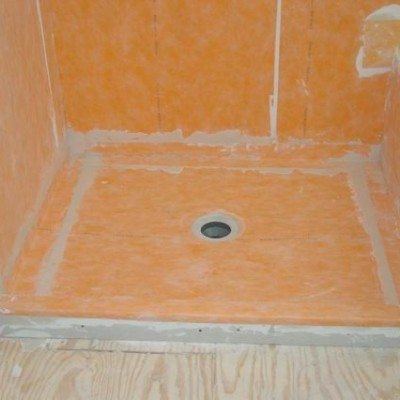 Kerdi Shower Install