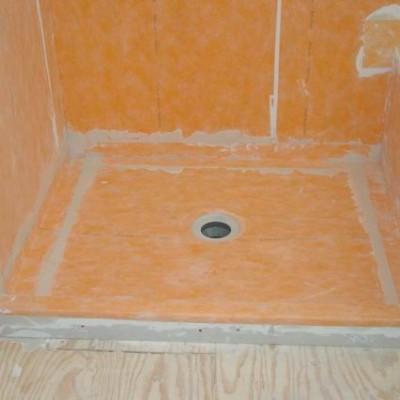 Kerdi Shower Install