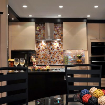 Mercury Mosaic Backsplash