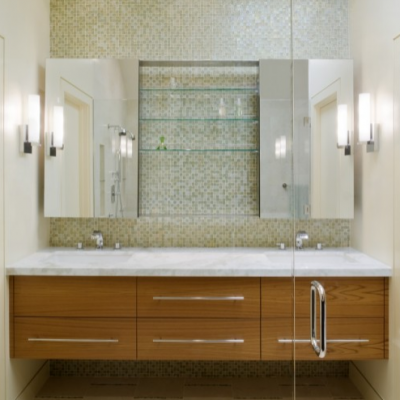 Modern Porcelain Tile Glass Inserts Alyse Edwards Glass Wall