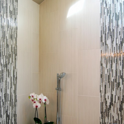 Modern Porcelain Wall Glass Mosaic Waterfall
