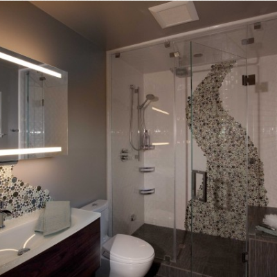 Modern VogueBay Bubbles Shower
