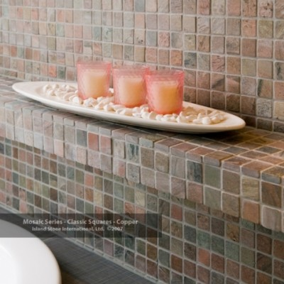 Mosaic Series Classic Squares Copper