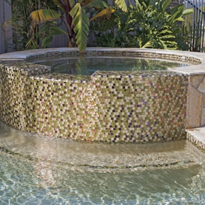 Oceanside Glass Tile Pool