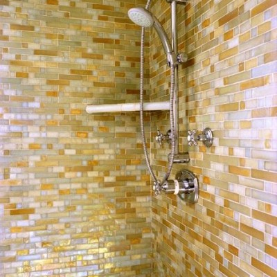 Oceanside Glass Tile Shower