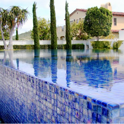 Pool Alyse Edwards Glass Mosaic