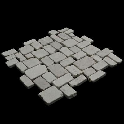 Random Squares Beige Marble