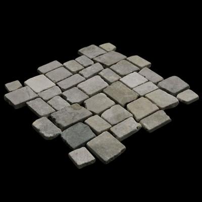 Random Squares Tan Marble
