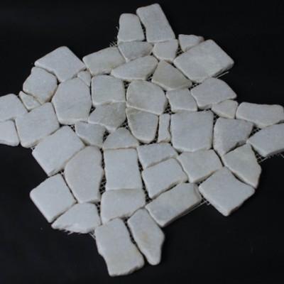 Random White Marble