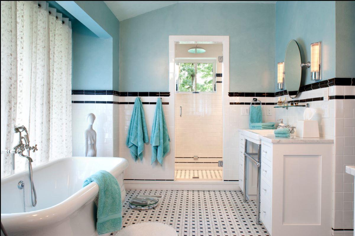 Bathroom Ideas Retro retro bathroom ~ dact