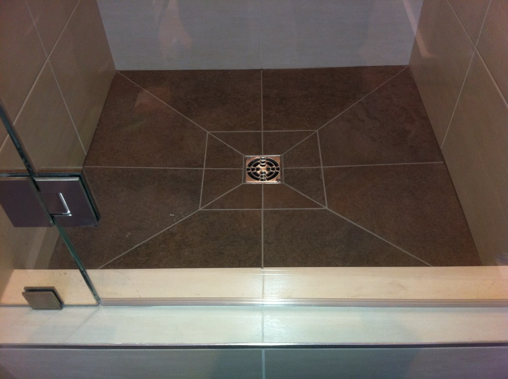 Schluter profiles westside tile and stone - Ditra shower system ...