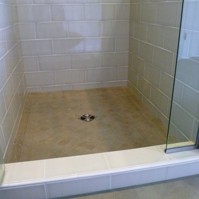 Schluter Shower Final Installation
