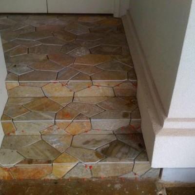 Slate Pattern steps