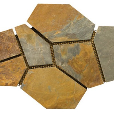 Earth Slate Mesh Flagstone