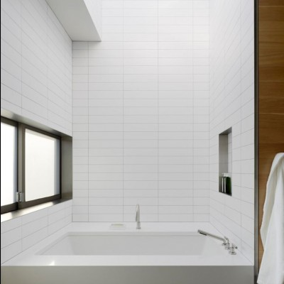 Stacked Subway Tile Installation
