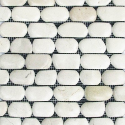 Strip Pebble Antique Timor White
