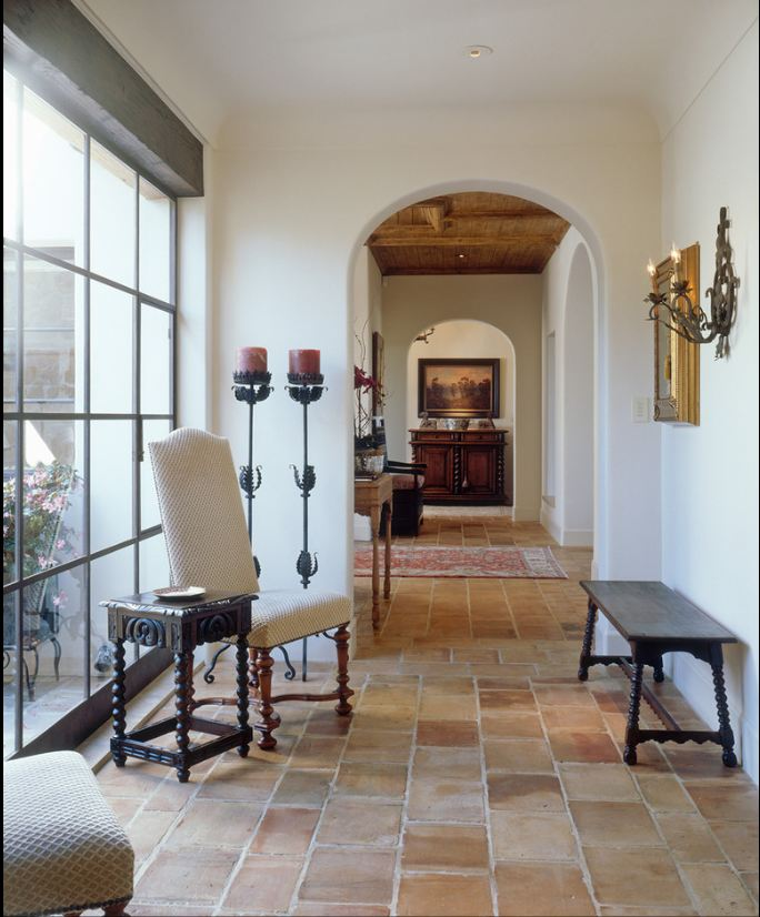 Interior Spanish Style Homes: Saltillo Tile - Saltillo Terra Cotta Tiles