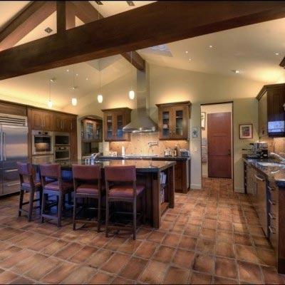 Terra Cotta Kitchen Floor
